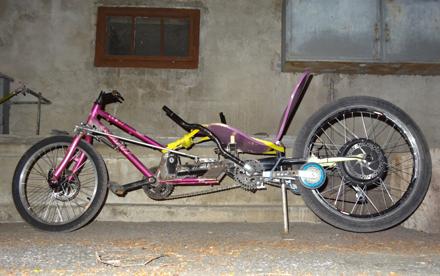 joystick bike